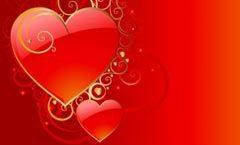 vectores del día de los enamorados floral-hearts