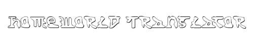 100 tipografias estilo 3d - homeworld-translator