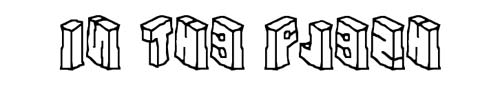 100 tipografias estilo 3d - in-the-flesh
