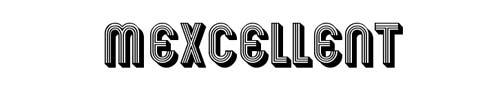100 tipografias estilo 3d - mexcellent