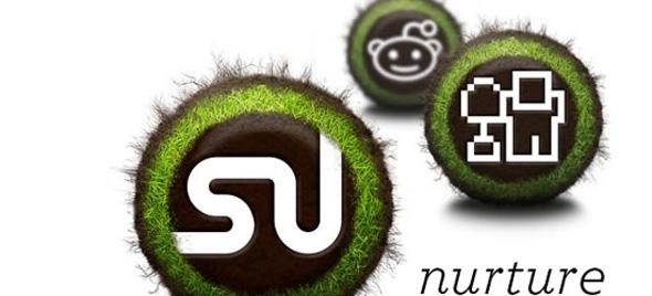 nurture free social media icon set