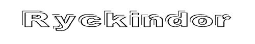 100 tipografias estilo 3d - ryckindor
