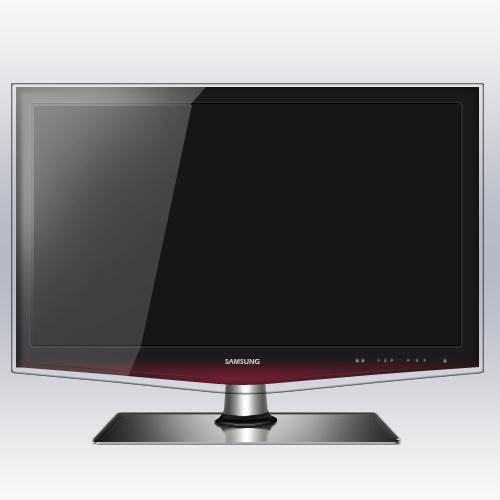 tutorial photoshop como crear un icono de un televisor