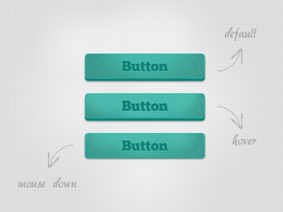 Botones creativos - Blue Buttons
