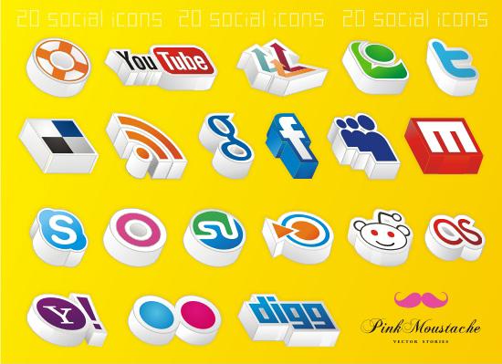social-icons-3d
