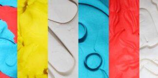 textura de plastilina