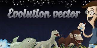 vectores de la evolucion