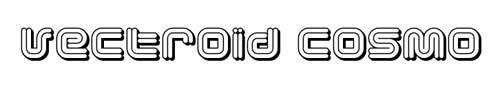 100 tipografias estilo 3d - vectoroid-cosmo