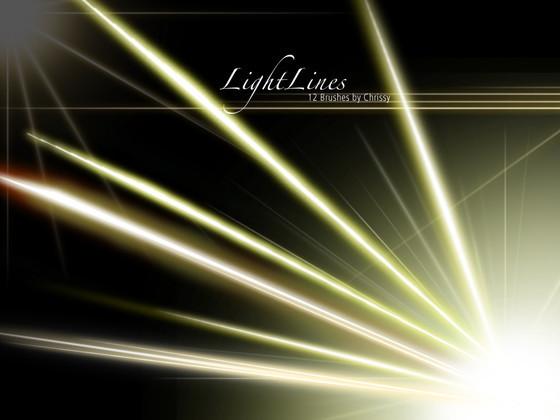 Pinceles Efectos de Luz