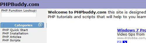 php buddy