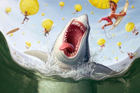 40 Excelentes caricaturas de Tiago Hoisel