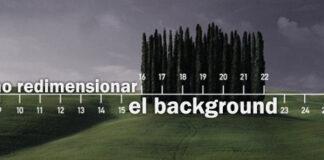 redimensionar background css3