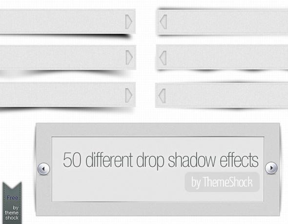 Efecto de sombras en PSD