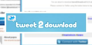 tweet2download plugin wordpress
