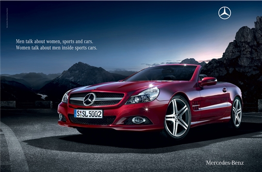 79 publicidades creativas de autos for Mercedes benz commercial