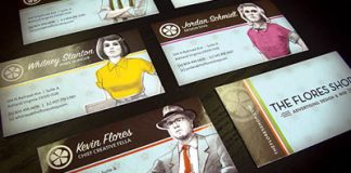tarjetas de negocio