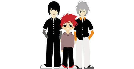 127_people_cartoon-manga-boys-hair-eyes-free-vector
