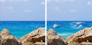 pinceles olas photoshop