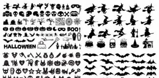 siluetas-de-halloween-vectorizadas