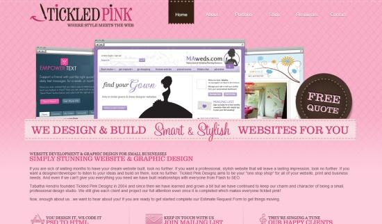 Sitios web rosa
