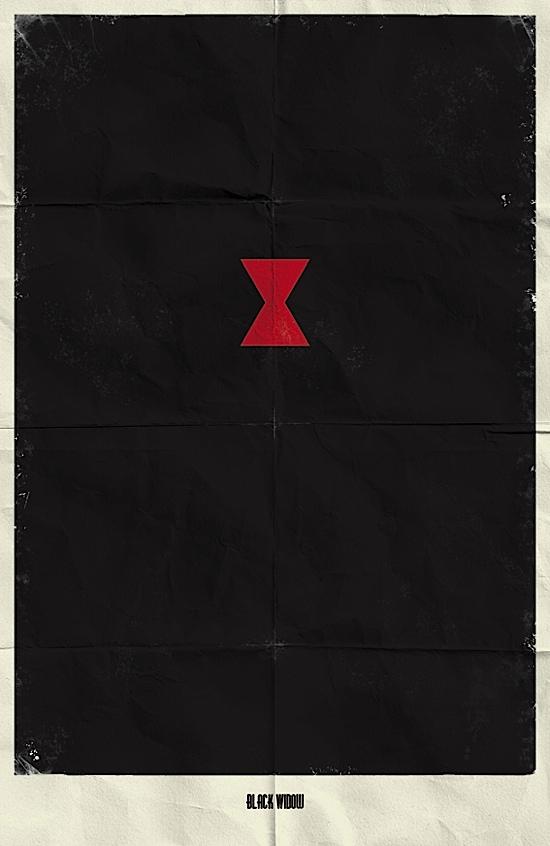 posters minimalistas de marvel