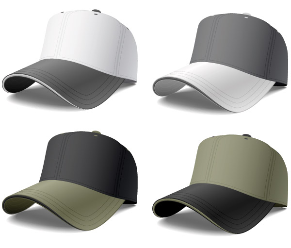 template-gorras-vectorizadas