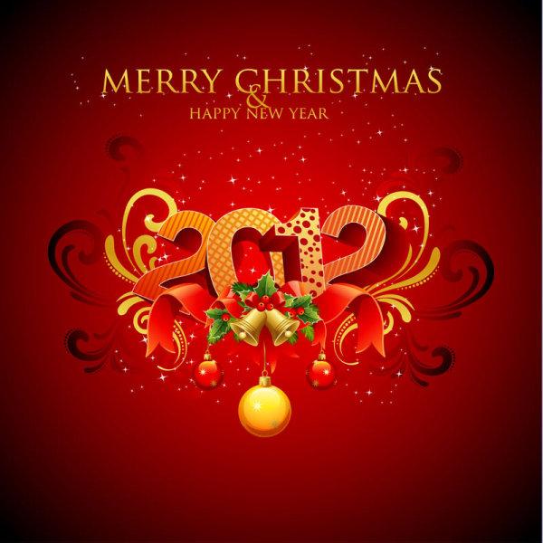 tarjeta de año nuevo 2012