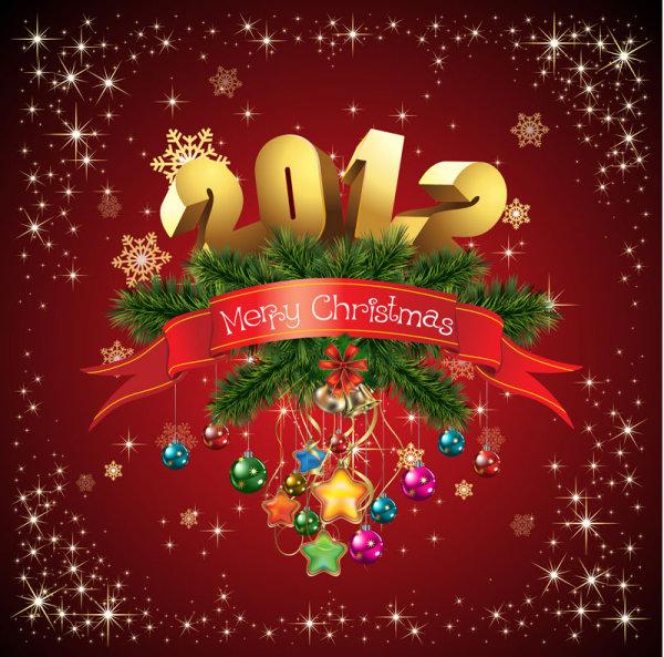 tarjeta año nuevo 2012