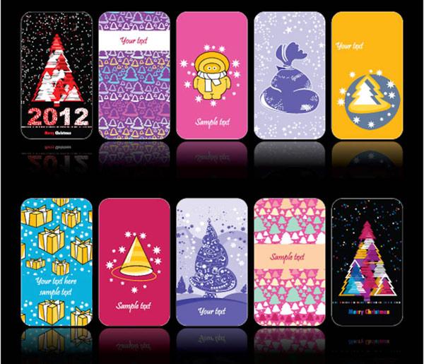 tarjetas simples de navidad