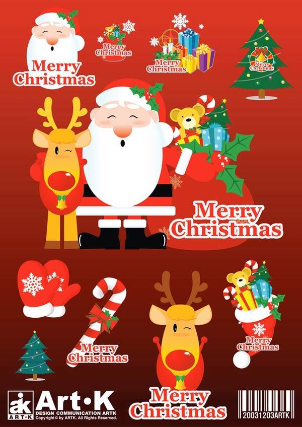 50 Packs con Vectores de Navidad gratis! - PuertoPixel.com