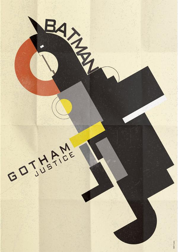 Superheroes por Gregoire Guillemin