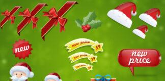 elementos-de-navidad-formato-psd