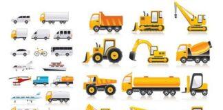 vehiculos-transporte-vectorizados