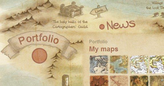 25 menu de navegacion creativos