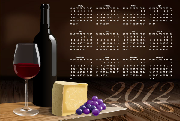 calendario-2012-vectorizado-vino