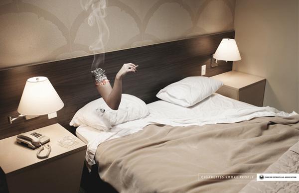 campaña anti tabaco - No smoke