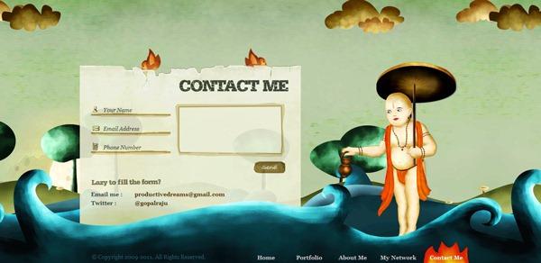 diseño de formularios de contacto