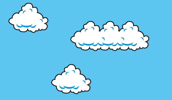 nubes-vectorizadas