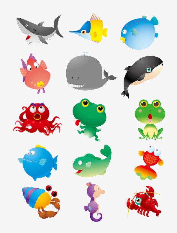 Animales marinos dibujos infantiles imagui - Fotos de animales infantiles ...
