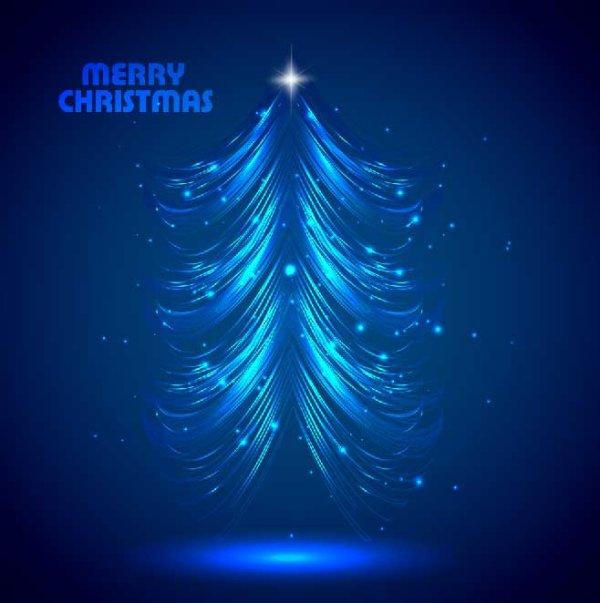 Arbol de navidad vectorizado