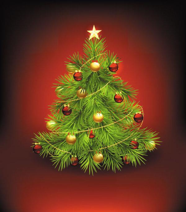 4 arboles de navidad vectorizados - Imagenes arbol de navidad ...