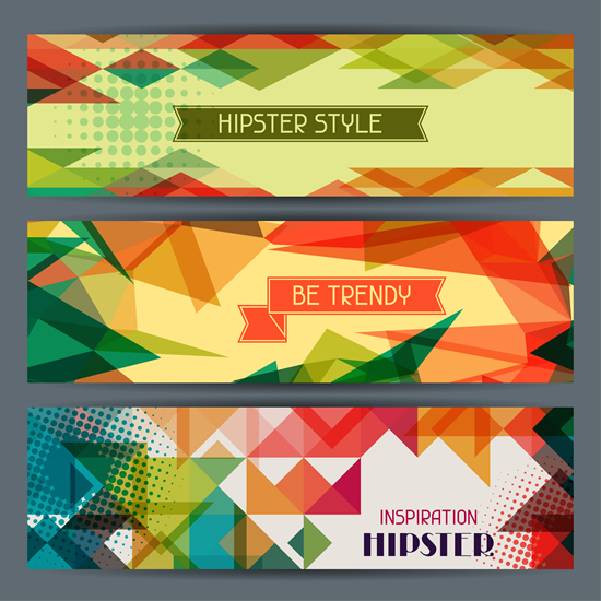 banners hipster 2