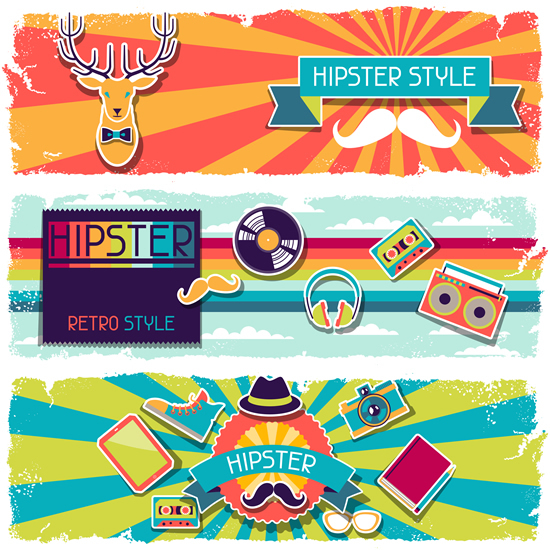 banners hipster 4