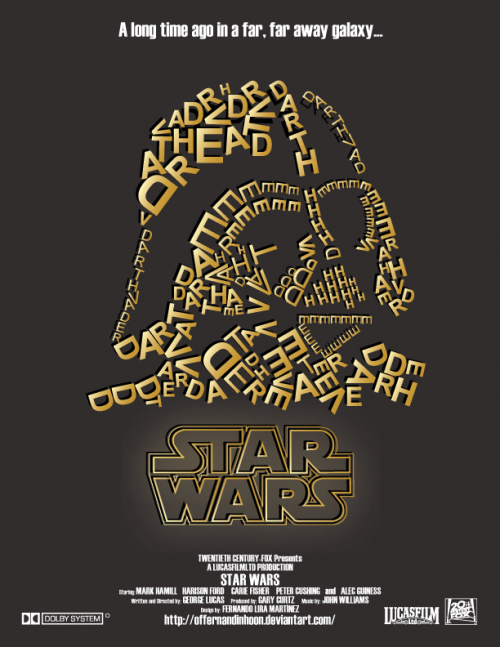 star wars typography design (1)