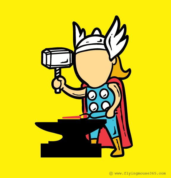 super heroes part time (2)