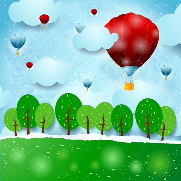 Hot-air-balloon-Baby-Dreams