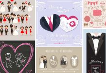 coleccion-vectores-bodas