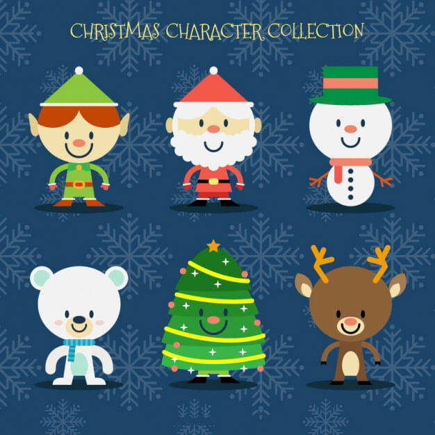 personajes_navidad_flat
