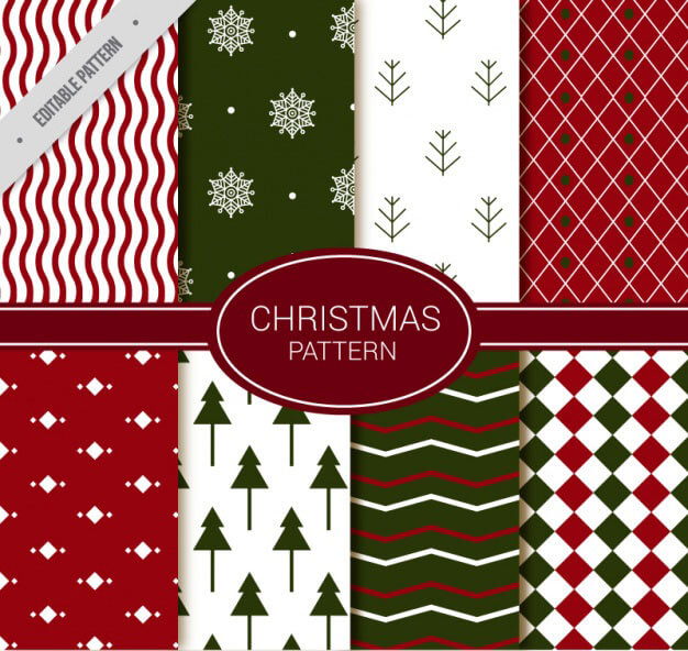 set-of-abstract-decorative-christmas-patterns