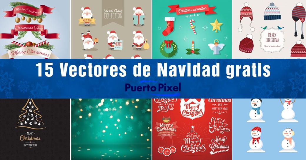 Vectores de navidad gratis